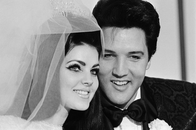 How old was Priscilla Presley when she got with Elvis Presley