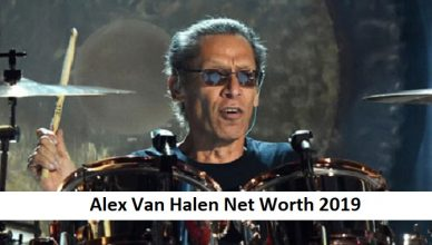 Alex Van Halen Net Worth 2019