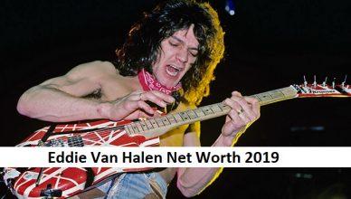 Eddie Van Halen Net Worth