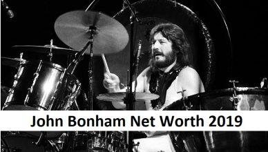 John Bonham Net Worth 2019