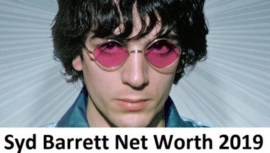 Syd Barrett Net Worth 2019