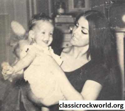 Priscilla Presley Young and Lisa Presley
