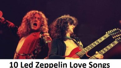 10 Led Zeppelin Love Songs