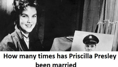 How many times has Priscilla Presley been married