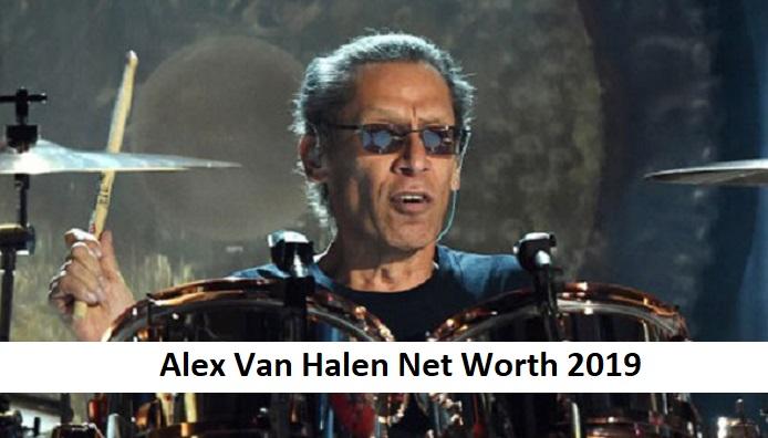 Alex Van Halen Net Worth 2019