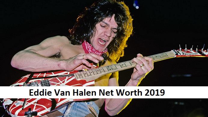 Eddie Van Halen Net Worth - Classic Rock Music News