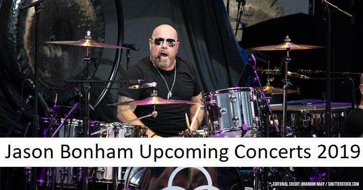 Jason Bonham Upcoming Concerts 2019