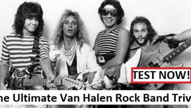 The Ultimate Van Halen Rock Band Trivia