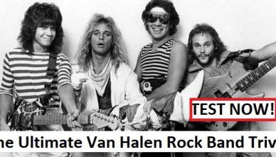The Ultimate Van Halen Rock Band Trivia