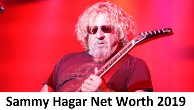 Sammy Hagar Net Worth 2019