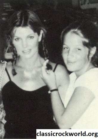Priscilla Presley Young and Lisa