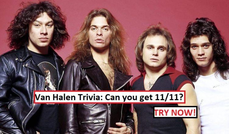 Van Halen Trivia