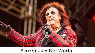Alice Cooper Net Worth