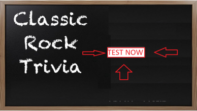 Classic Rock Music Quiz
