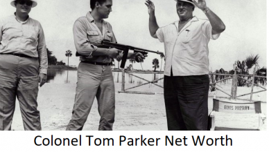 Colonel Tom Parker Net Worth