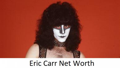Eric Carr Net Worth