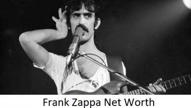 Frank Zappa Net Worth
