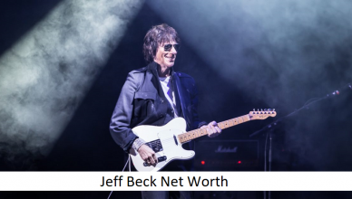 Jeff Beck Net Worth