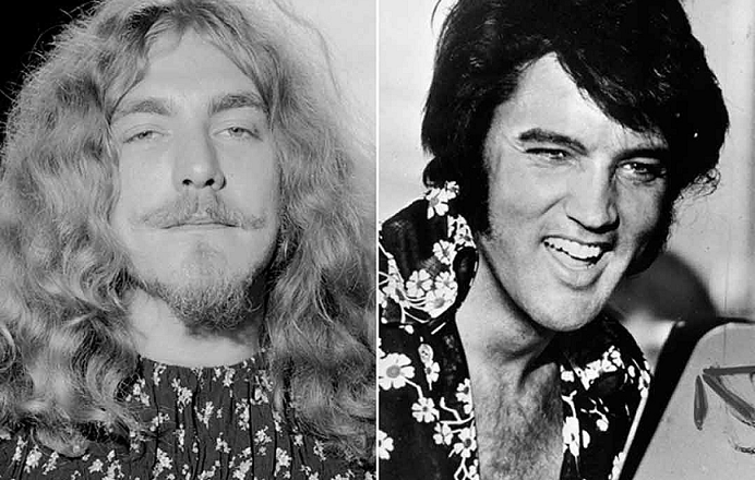 Jimmy Page of Led Zeppelin reveals long-standing rumors about Elvis Presley