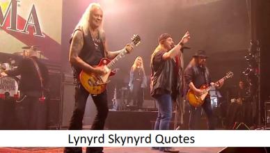 Lynyrd Skynyrd Quotes