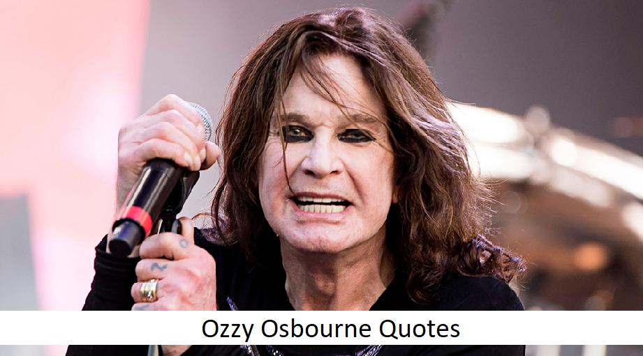 10 Ozzy Osbourne Quotes