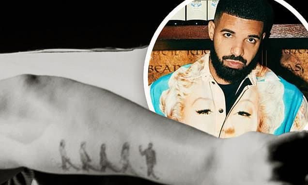 Drake Respects The Beatles With a Meaningful Tattoo
