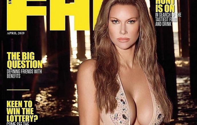 Duff McKagan's Wife Susan Holmes McKagan  Becomes Cover Model Of A Man Magazine