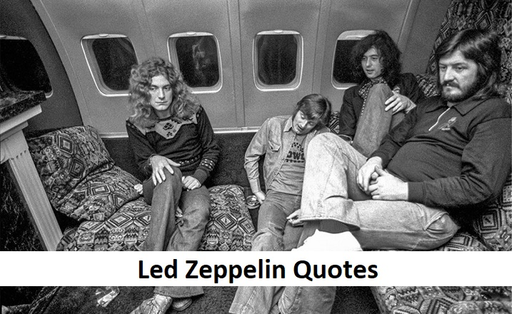 10 Led Zeppelin Quotes You Shoul Read