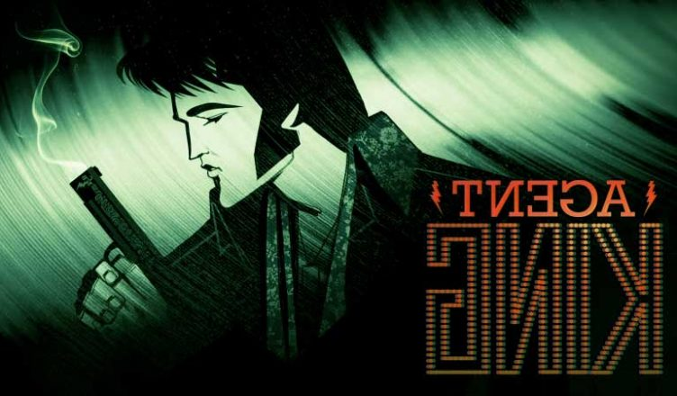 """Netflix's Cartoon """"Agent King"""" About Elvis Presley as A Government Spy"""