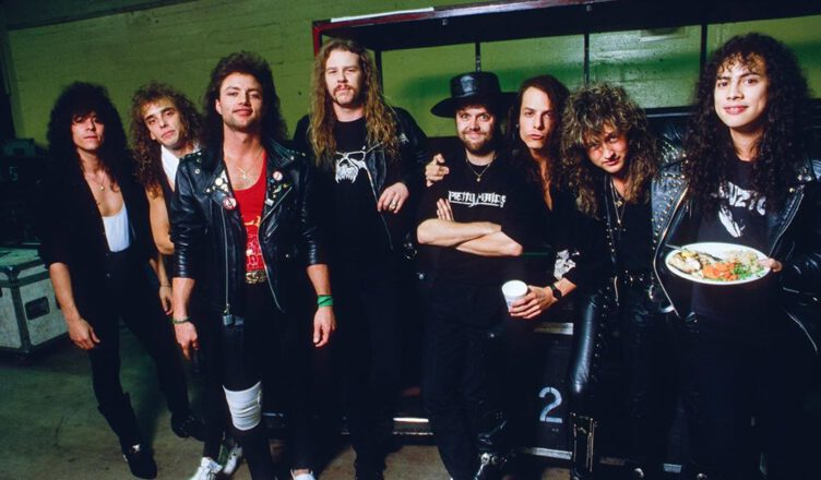 Ross Halfin Shared a Really Golden-Worth Photo of James Hetfield, Kirk Hammett, Lars Ulrich