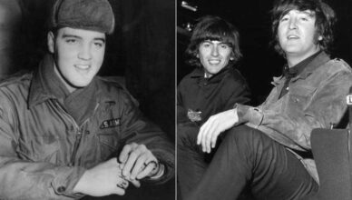 The Beatles' John Lennon Show Respect To Elvis Presley