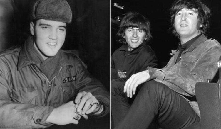 The Beatles' John Lennon Show Respect To Elvis Presley