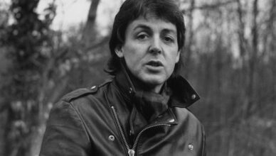 The Beatles' Paul McCartney 'Eating Face'
