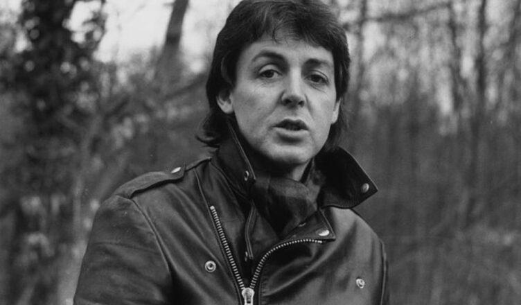 The Beatles' Paul McCartney 'Eating Face'