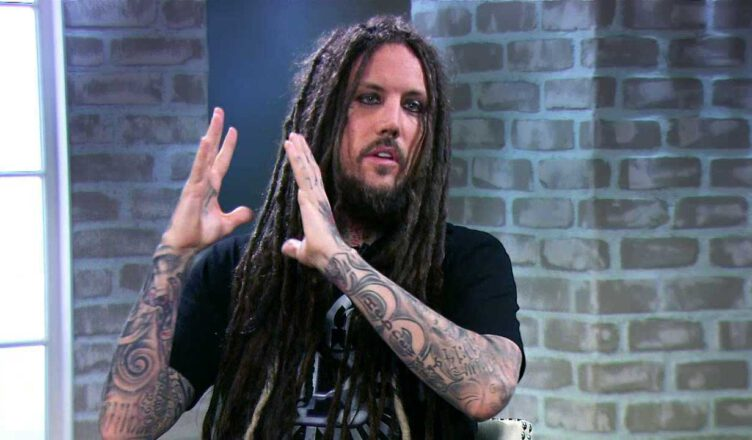 Korn's Brian Welch Update Guitar Licking Photo
