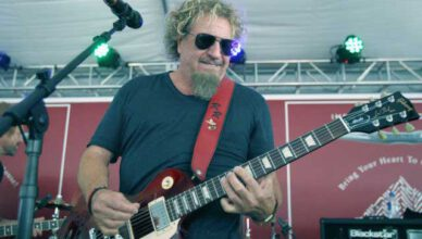 Sammy Hagar Shared A Never-Seen-Before Photo of Eddie Van Halen