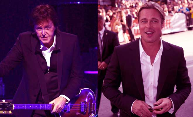 The Beatles' Paul McCartney Want A Project With Brad Pitt