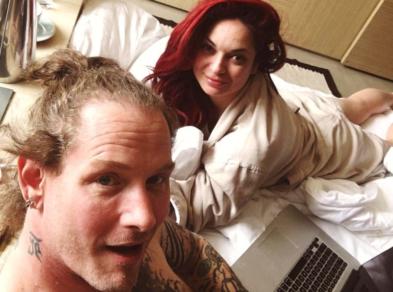 Slipknot Icon Corey Taylor's Wife Alicia Taylor Shared Some Special Photos
